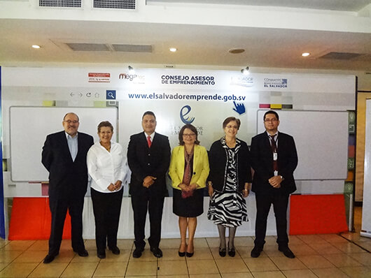 Lanzamiento del portal El Salvador Emprende.gob.sv