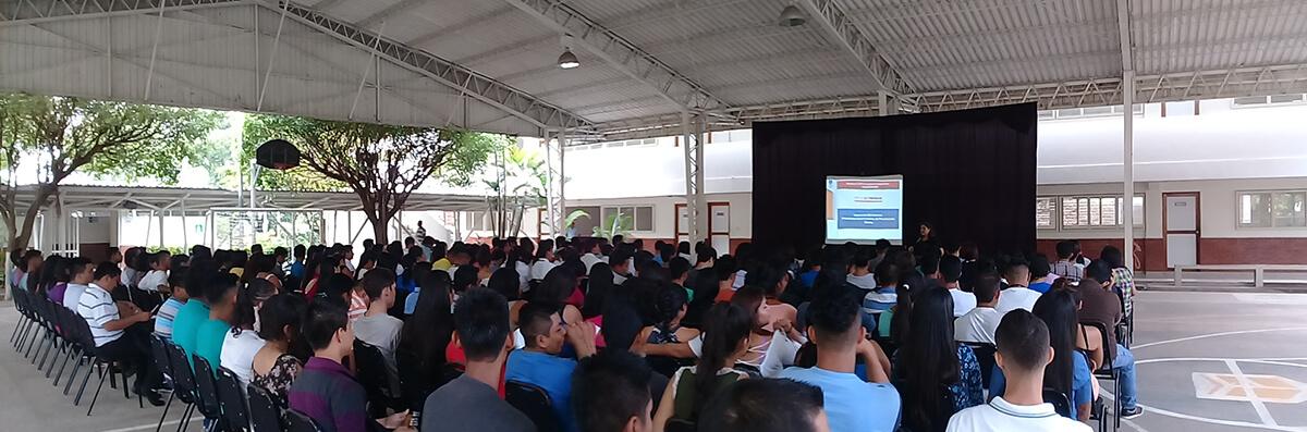INDUCCIÓN ESTUDIANTIL AL PROGRAMA INSTITUCIONAL DE PROYECCIÓN SOCIAL SEDE CENTRAL Y SUS 4 CENTROS REGIONALES.