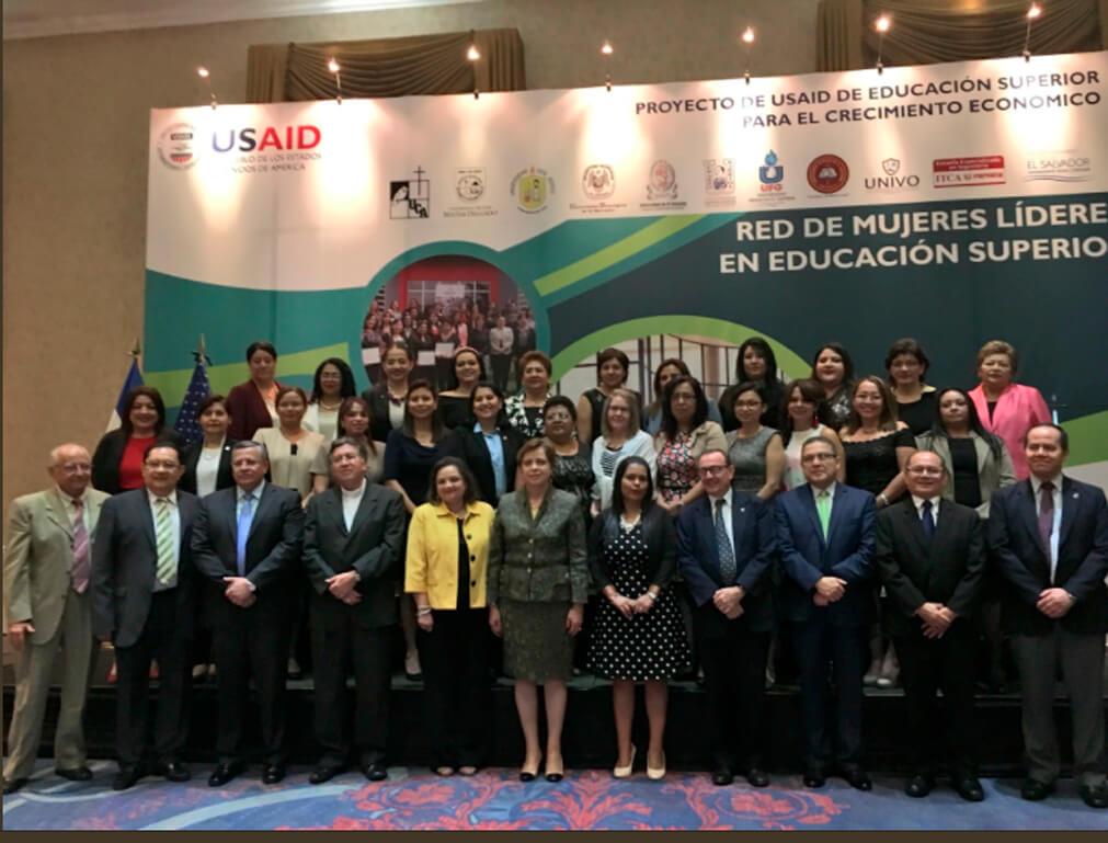 ITCA FORMA PARTE DE LA RED DE MUJERES LÍDERES EN EDUCACIÓN SUPERIOR
