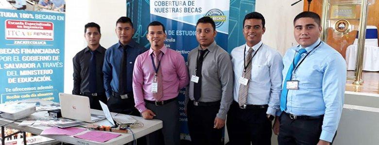 PARTICIPAMOS EN FERIA NACIONAL DE CIENCIA Y TECNOLOGIA ZACATECOLUCA (1)
