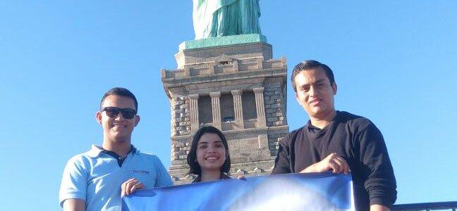 TRES ESTUDIANTES DE ITCA ESTUVIERON EN NORTHAMPTON COMMUNITY COLLEGE, PENSILVANIA, ESTADOS UNIDOS (1)