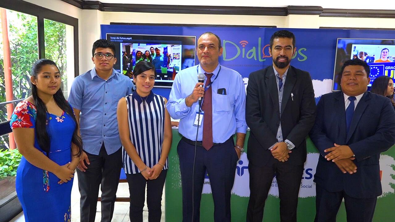 ESTUDIANTES DE ITCA REGIONAL ZACATECOLUCA PARTICIPAN EN PROGRAMA DIALOGUS
