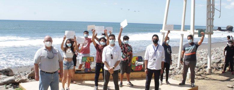 JoVENES BECADOS EN EL MARCO DE SURF CITY SE GRADuAN DE ITCA EN EL IDIOMA INGLeS (6)